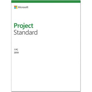 Microsoft Project Standard 2019 - Medialess Retail