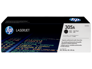HP 305A Black Original LaserJet Toner Cartridge (CE410A)