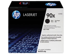 HP 90X High Yield Black Original LaserJet Toner Cartridge (CE390X)