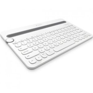 Logitech K480 Bluetooth White Multi-Device Keyboard - 1 Year Warranty