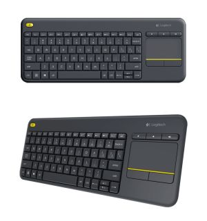 Logitech K400 Black Wireless Touch Plus Keyboard