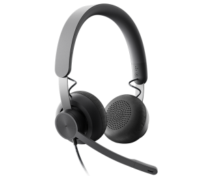Logitech Zone Wired USB Headset With ANC For UC Applications