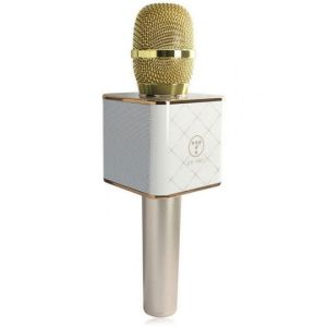 Q7 Wireless Bluetooth Microphone Sing Karaoke with Smartphone / PC and Media Player