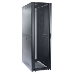 APC NetShelter SX 42U /600MM/1200MM Enclosure with Roof and Sides Black