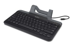 Belkin Wired Tablet Keyboard With Stand For Ipad Lightning Connector