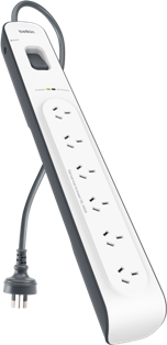 Belkin 6 Outlet Surge Protector With 2m Cord