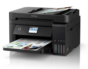 Epson Workforce ET-4750 EcoTank Colour A4 Multifunction Wireless Inkjet Printer