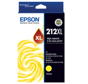 Epson 212XL Compatible Yellow High Yield Ink Cartridge