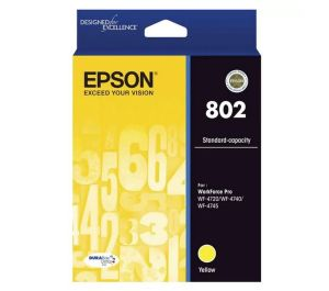 Epson 802 Standard Capacity DURABrite Ultra Yellow Ink Cartridge