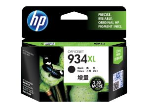 HP 934XL High Yield Black Original Ink Cartridge (C2P23AA)