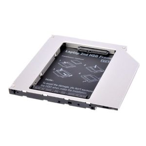 Notebook Second HDD SSD SATA Hard Drive Caddy 12.7mm
