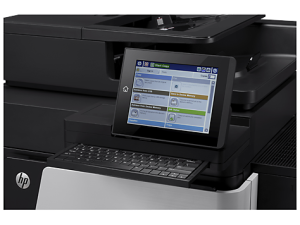 HP LaserJet Enterprise Flow M830Z Mono Printer MFP A3 A4 55ppm Stacker 5 Trays Duplex Network 1 Year