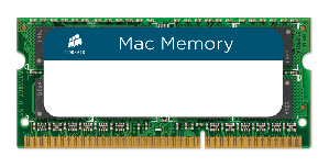 Corsair (1x4GB) DDR3 for MAC DDR3-1066 1.5V SODIMM