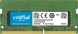 Crucial 32GB (1x32GB) DDR4 SODIMM 2666MHz CL19 1.2V PC4-21300 Dual Ranked Single Stick Notebook Memory