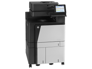 HP LaserJet Enterprise Flow Colour Printer MFP M880Z+ A3 46ppm Network Wireless Auto Duplex ADF 1 Year