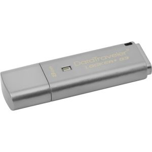 Kingston 8GB USB 3.0 DT Locker G3 With Automatic Data Security