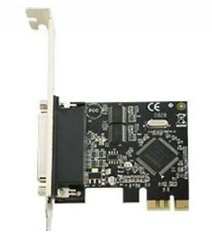 SKYMASTER PCI-E DUAL RS232+ 1P CARD