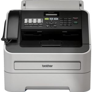 Brother 24ppm Mono Laser Plain Papersuper G3 Fax With Handset