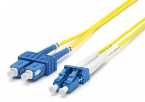 Blupeak 3m Fibre Patch Cable Singlemode LC to SC OS2