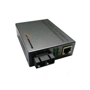 ServerLink 10/100Base-TX to 100Base-FX Fibre Media Converter SC Single-Mode 1310nm to 20km