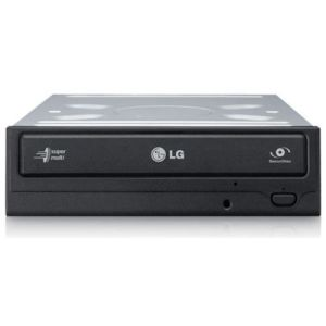 LG GH24-NSD1 24x Dual Layer Super Multi DVD Burner Black OEM SATA M-Disc Support