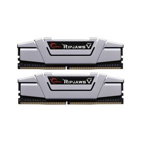 G.Skill DDR4-2400 16GB Dual Channel Ripjaws V Radiant Silver [F4-2400C15D-16GVS]
