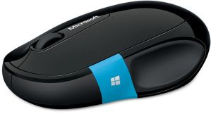 Microsoft Bluetooth Sculpt Comfort Mouse Black