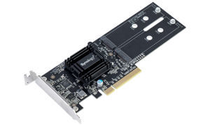 Synology M2D18 Dual M.2 SSD adapter card for extraordinary cache performance