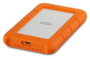 Lacie 2TB Rugged USB-C Portable Drive 5400rpm HDD