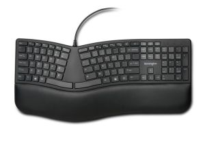Kensington Pro Fit ErgonoMic Wired Keyboard Black