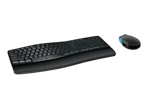 Microsoft Wireless Sculpt Comfort Desktop USB Mouse & Keyboard Black