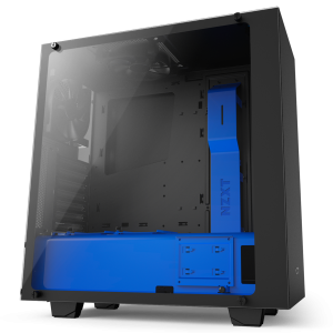 NZXT Black & Blue S340 Elite S340 Mid Tower Chassis (USB3)