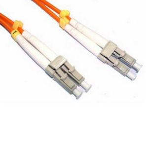 LC to LC 62.5/125 3.0mm Multimode Fibre Optic Patch Lead Cable 10m