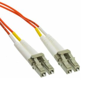 LC to LC 62.5/125 2.0mm Multimode Fibre Optic Patch Lead Cable 3m
