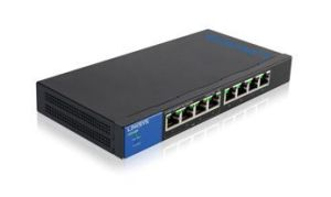 Linksys LGS108P 8-Port Gigabit (4-Port PoE+) Unmanaged Switch