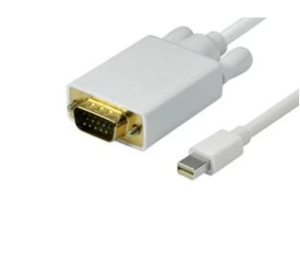 Blupeak 2m Mini DisplayPort Male to VGA Male Cable
