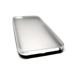 Colored Frame Clear Matte Back Case Ffor IPhone 5