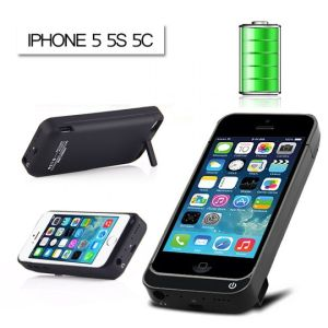 Premium Charger Case for Apple iPhone 5 5s 4200AHM