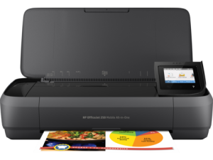HP OfficeJet 250 Mobile All In One Printer Wireless