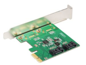 PCI-express ide+sata 2-port raid controller card