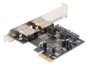 2 Ports SATA III Internal 6Gbps PCI-e Card