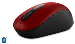 Microsoft Bluetooth Mobile Mouse 3600 (Dark Red)