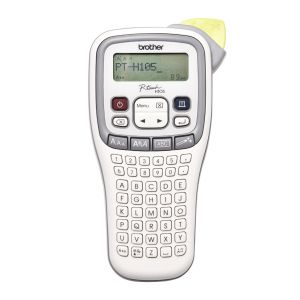 Brother Whitegray Accent Handheld Labeller 3.5-12mm TZE Tape Model