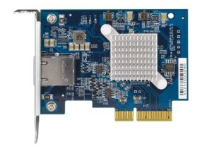QNAP QXG-10G1T Network Card For All NAS Models With PCIe Slot Single Port 10GBase-T