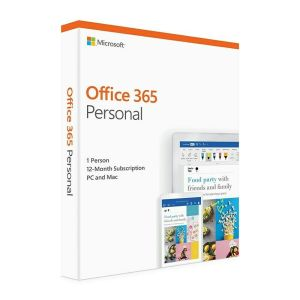 Microsoft Office 365 2019 Personal 1 Year Licence - Medialess Retail