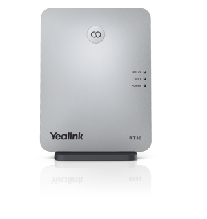 Yealink RT30 DECT Phone Repeater Up To 6 Repeaters Per base station cascade Up To 2 Repeaters compatible With W60B