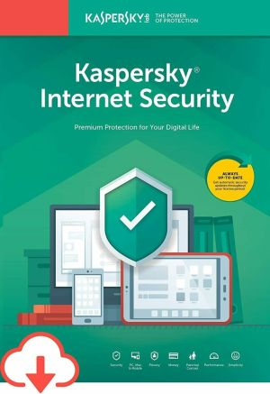 Kaspersky Internet Security 2020 - 3 Devices 2 Year - Email License Key