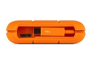 Lacie 500GB SSD Rugged Thunderbolt USB 3.0 Portable Drive