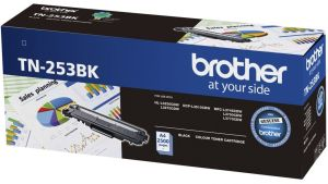 Brother TN-253BK Black Toner Cartridge Up to 2500 Pages