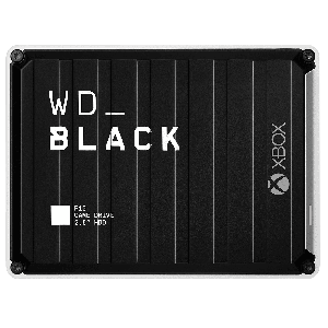 WD Black P10 Game Drive For Xbox 5TB Black Top W/White Bottom Worldwide